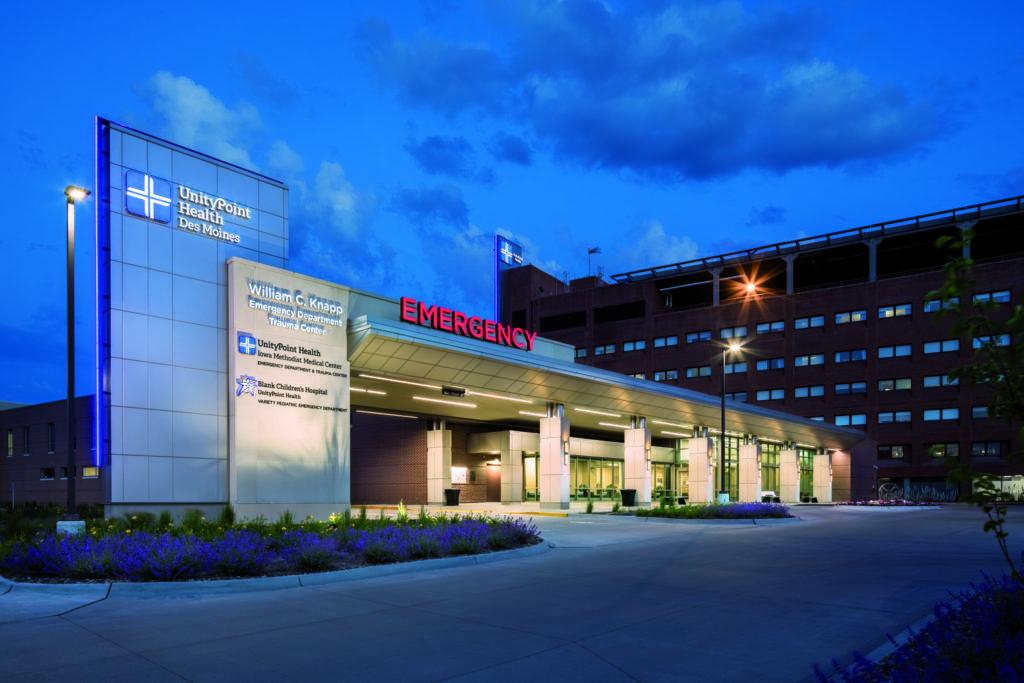 Iowa Methodist Medical Center & Blank Children's Hospital Emergency Department