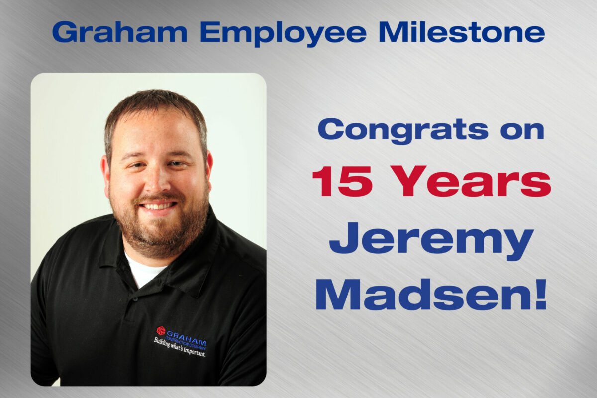 Jeremy Employee Milestone