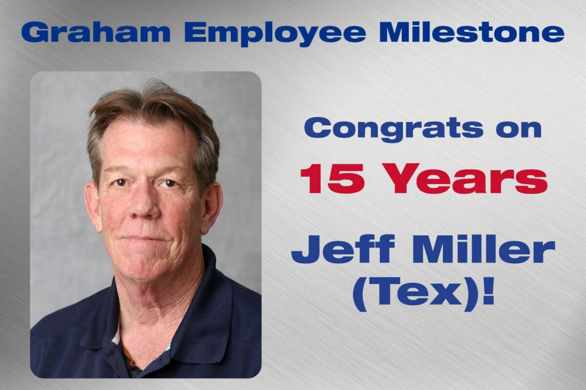 Jeff Miller - 15 Years